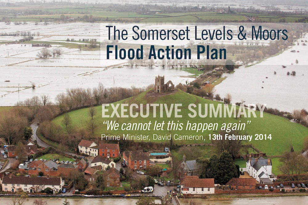 Front Cover Of First Flood Action Plan Executive Summary