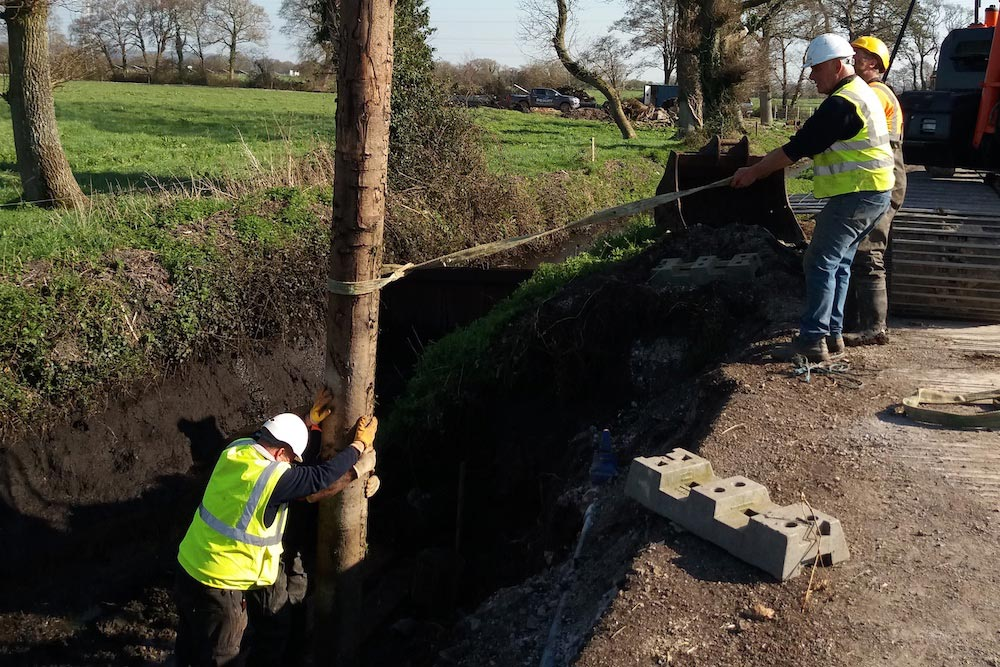 New culvert will keep water draining and traffic flowing