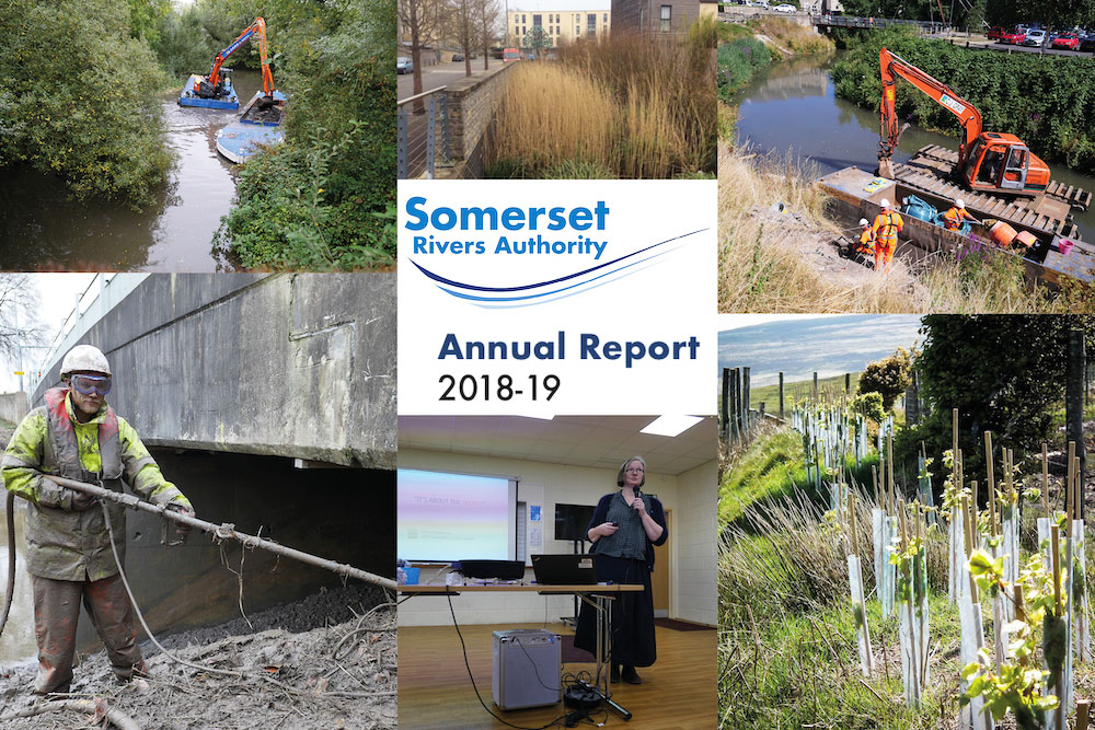 Out Now: Somerset Rivers Authority Annual Report 2018-19